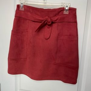 BRAND NEW SUEDE SKIRT